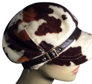 Nine West New Nine West animal print cool hat