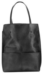 Timberland Leather Tote in Black