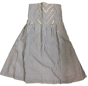 Old Navy short dress blue and white on Tradesy