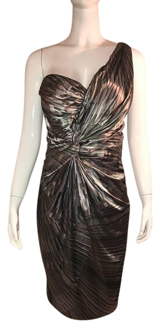 Maggy London Mix Mid-length Formal Dress Size 12 (L) Maggy London Mix Mid-length Formal Dress Size 12 (L) Image 1