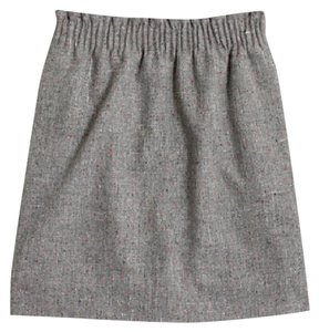 J.Crew Mini Skirt Grey, Gray