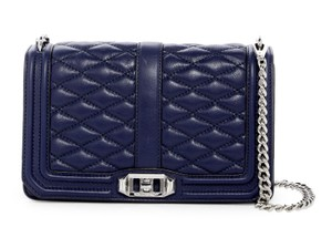 Rebecca Minkoff Moon Quilted Leather Full Love Cross Body Bag