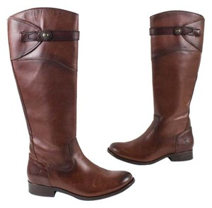 Frye Leather Riding Brown Boots