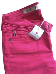 AG Adriano Goldschmied Cigarette Skinny Skinnies Colored Skinny Jeans-Medium Wash