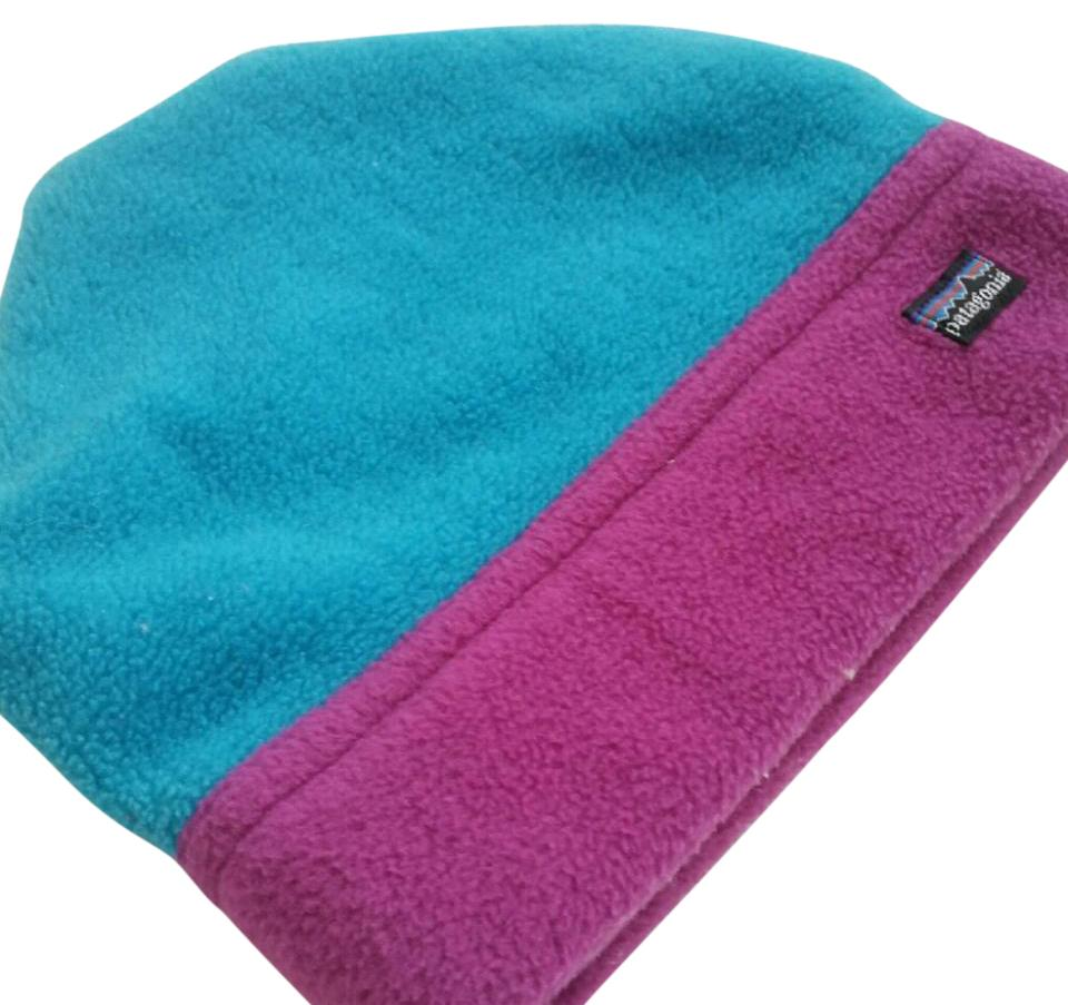 f983efe42a0 Patagonia Pink and Blue Synch Alpine Hat - Tradesy