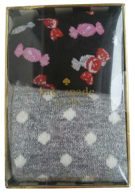 Item - Black Red and Pink. Silver and White Trouser Socks