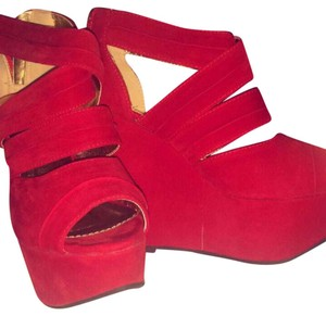 Koi red Wedges