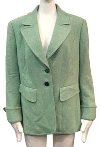 Escada Green / Multi Color Blazer