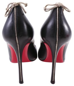 Christian Louboutin Very Gemma Sexy Bow Black Pumps