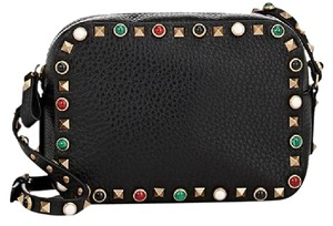 Valentino Rockstud Studded Embellished Cross Body Bag