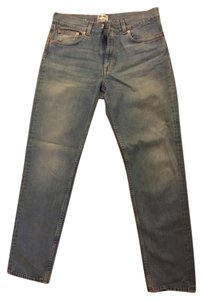Acne Studios Straight Leg Jeans-Light Wash