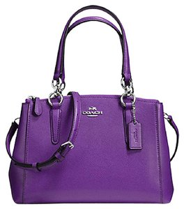 Coach Carryall 34797 Satchel in SILVER PURPLE