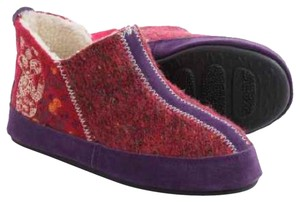 Other red purple Flats