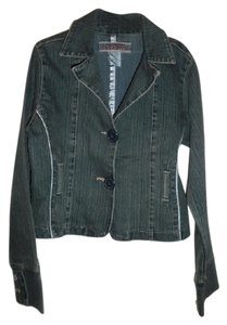 Z. Cavaricci Modern Stylish Denim blue Womens Jean Jacket