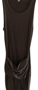 James Perse short dress Charcoal on Tradesy