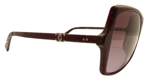 Chanel Chanel 5245 1410/S1 Red Bordeaux/ Squared Violet Gradient Lenses