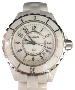 Chanel J12 White Ceramic Watch Chanel J12 Quartz Ceramic Watch
