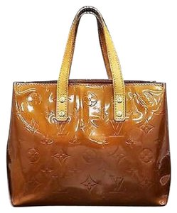 LV READE PM VERNIS TOTE Tote in BRONZE
