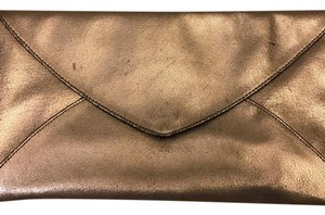 BCBGMAXAZRIA Metallic Clutch