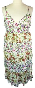Ivory, Brown, Green, Magenta, White, Yellow Maxi Dress by Jane Ashley Plus Size Fashions Lined Maxi
