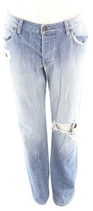 Era of Chaos Distressed Designer Boyfriend Cut Jeans-Distressed