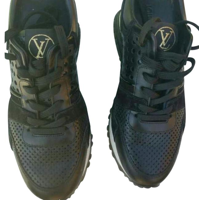 Item - Black and Gold Women's Sneakers Size US 5 Regular (M, B)