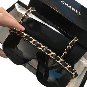 Chanel Chanel Sunglasses with chain