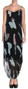 black combo Maxi Dress by Bar III