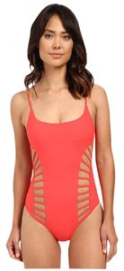 Red Carter Red Carter Splice & Dice Side Cut Out Tank One-Piece Swimsuit