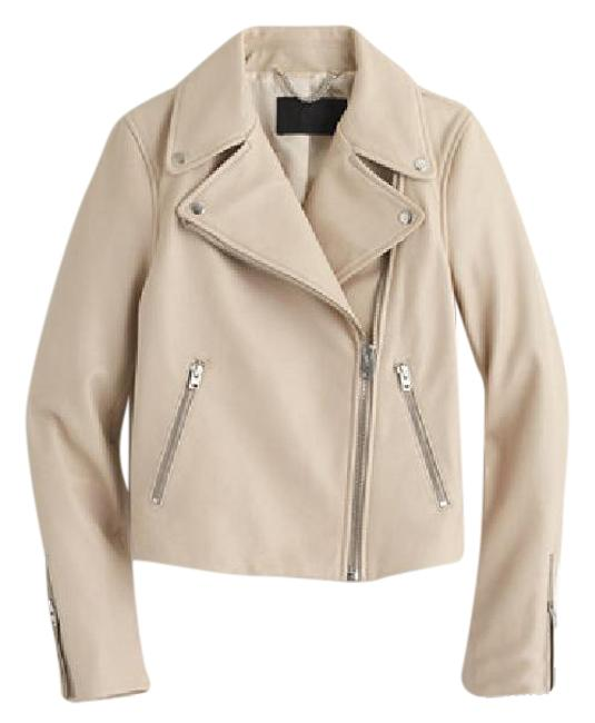 Item - Sand Beige Tan Collection Motorcycle Jacket Size 4 (S)