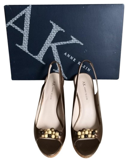 Anne Klein Bronze Sandals