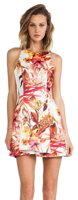 Preload https://item5.tradesy.com/images/muti-color-cameo-stepping-stones-in-tropic-print-xs-above-knee-short-casual-dress-size-0-xs-2052144-0-0.jpg?width=400&height=650