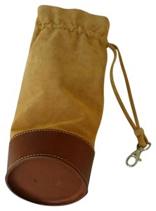 Levenger Fine Leather Tools Wristlet in Whiskey color