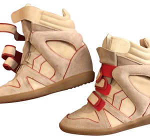 Isabel Marant beige and red Athletic