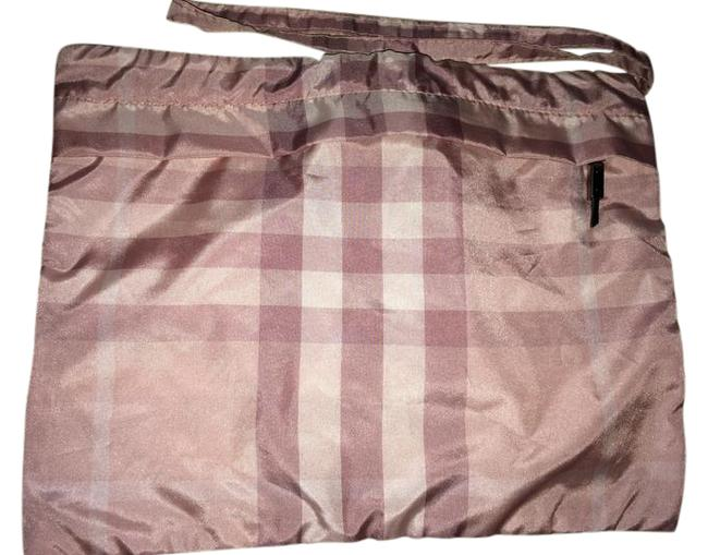 Item - Check Pouch Pink Poly Weekend/Travel Bag