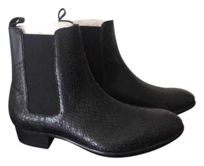 Item - Black Leather Boots/Booties Size US 9.5 Regular (M, B)