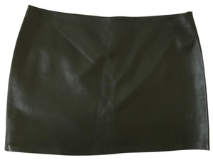 Haute Hippie Mini Skirt olive