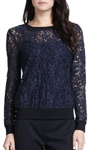 Theory Lace Sheer Sweater