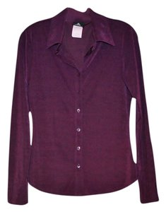 Anxiety Cafe Shimmer Soft Top Purple