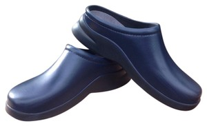 Klogs Navy Blue Mules
