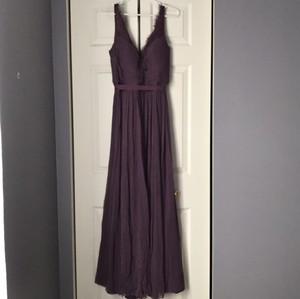 BHLDN Antique Orchid Fleur Feminine Bridesmaid/Mob Dress Size 10 (M)