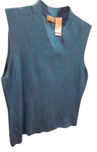 Liz Claiborne V-neck Sleeveless Lightweight Silk Vintage Sweater
