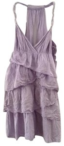 Calypso St. Barth short dress Lavender Silk on Tradesy