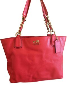 Coach Tote in Orange