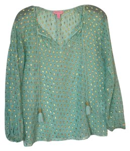 Lilly Pulitzer Top Light Sea green