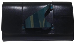 perrin paris black Clutch