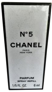 Chanel Vintage Chanel No. 5 refill 1/5 fl. oz. 6ml Parfum sealed box