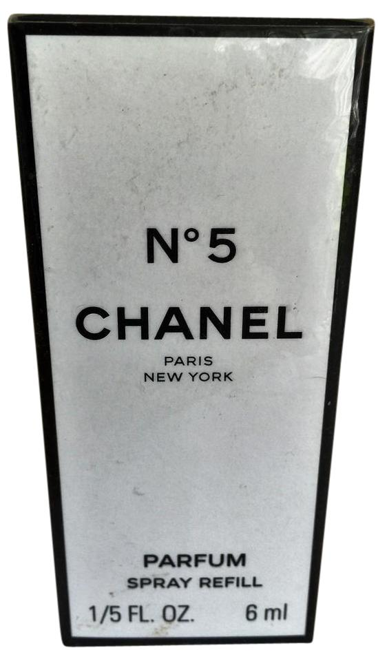 9b1d92667c1056 Chanel Box Vintage No. 5 Refill 1/5 Fl. Oz. 6ml Parfum Sealed ...