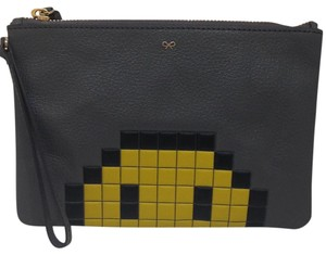 Anya Hindmarch Pixel Smile Cosmetic Pouch