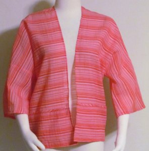 Jones New York Open Front & Red Extra Smal Top Pinks & Reds